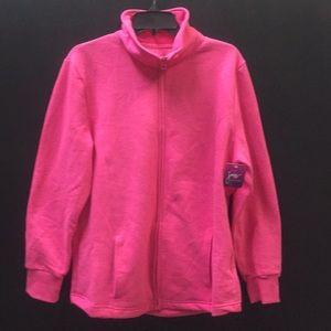 Pink Just My Size Zipper up Jacket.